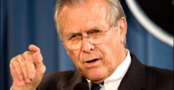 Donald Rumsfeld: Pay Top Dollar To Eat With Him Tonight, Then Buy His Book And Follow Him On Twitter
