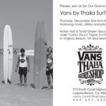 December Surf Events: Signings, Films, Art Shows, Sales, Grand Openings And Socializing