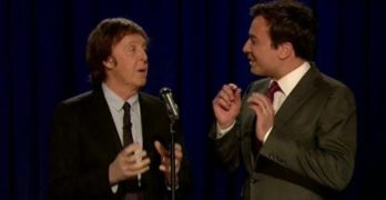 Paul McCartney Sings Original 'Yesterday' Lyrics–'Scrambled Eggs'–with Jimmy Fallon