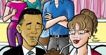 Obama-Palin Comics: Heal Our Country by Putting the Right Words in Archie's Mouth