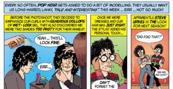 NOIRtorious #4: In Which the McGarry Brothers Engage in Modeling Hijinks