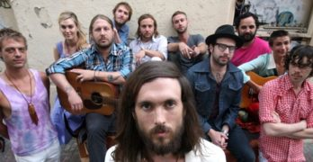 Edward Sharpe and the Magnetic Zeros to Hold 'Open Mic' Night at Their Grove Gig