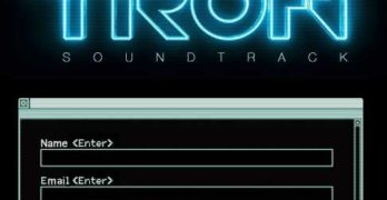 A Nifty Website for Daft Punk's 'Tron' Soundtrack