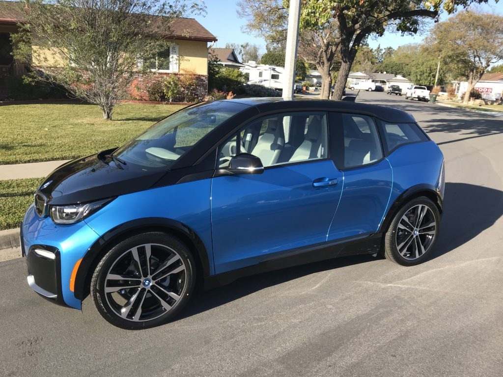 2018 bmw i3s electric car looks even better thanks to socal edison. Black Bedroom Furniture Sets. Home Design Ideas