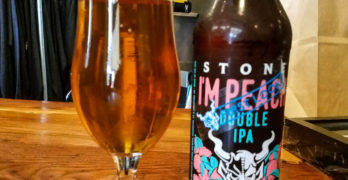 I'm Peach Double IPA by Stone Brewing: Our Beer of the Week!