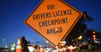 San Clemente DUI Patrols and Irvine and Santa Ana Checkpoints TONIGHT!