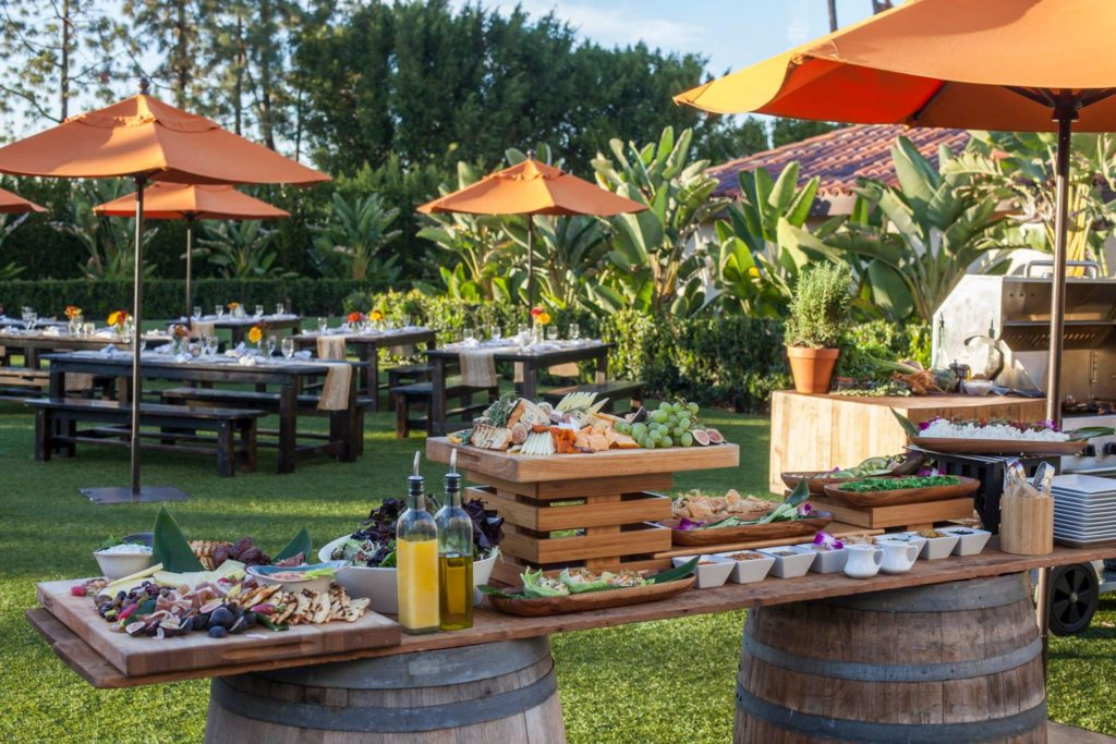 Hotel Irvine's holiday buffet brunch