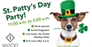 Skyloft's Annual St. Patty's Day Party