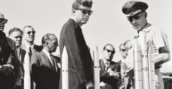 A Ghost Is Resurrected at the Bowers With 'American Visionary: John F. Kennedy's Life and Times'