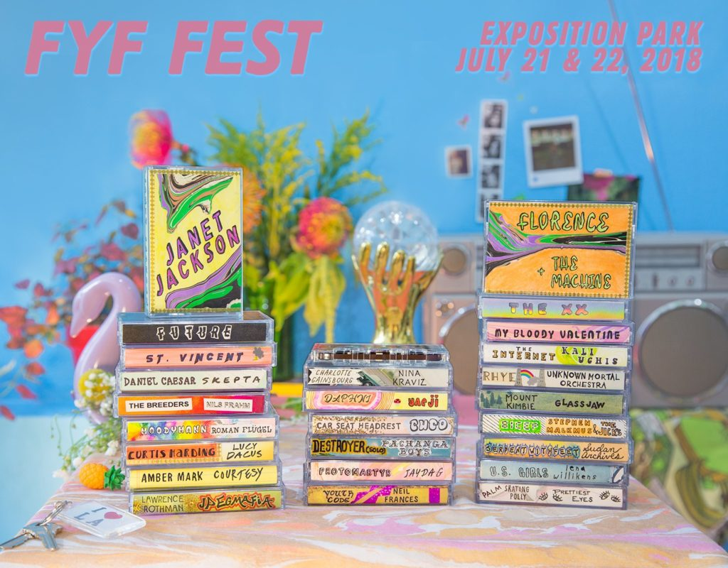 FYF Just Dropped a Diverse, Exciting Lineup for 2018