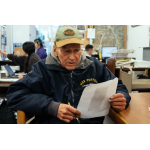 Former LA Times and OC Register Reporter Clark Sharon, Now Homeless, Spends His Days Reading the Papers He Once Wrote For