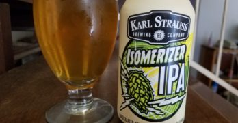 Isomerizer IPA from Karl Strauss Brewing Company: What the Ale!