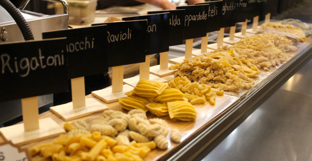 Pasta shapes from Market2Plate