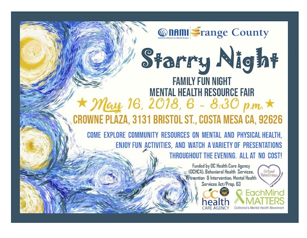 Starry Night - Mental Health Resource Event