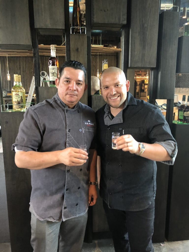 Business partners Velasco and Galvez of the upcoming Sol Agave in Mission Viejo