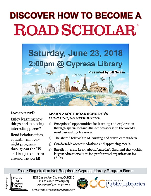 Become a Road Scholar