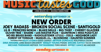 Music Tastes Good 2018 Announces Lineup Headlined By New Order and James Blake