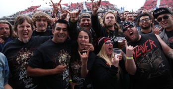 Slayer The Final Tour at Five Point Amphitheater