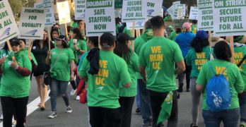 UC Irvine Service and Patient-Care Workers Walk Picket Lines in 3-Day Statewide Strike