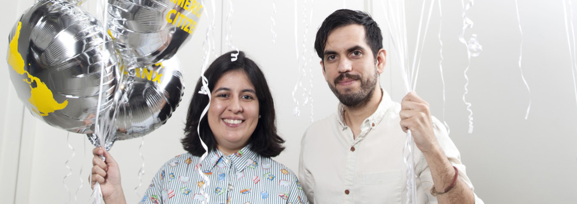 The Cog•nate Collective, Amy Sanchez Arteaga and Misael Diaz, Create Art Through Research [OC People 2018]