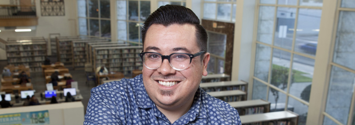 Santa Ana Librarian David Lopez Is Putting His Hometown on the Global Map [OC People 2018]