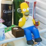 Homer Simpson In Your Fridge As A Dieting Tool?