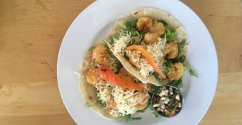 Eat This Now: Popcorn Shrimp Tacos at Memphis Soul Cafe