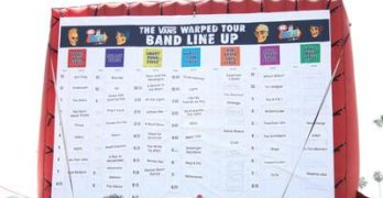 How I Almost Attended Warped Tour 2009