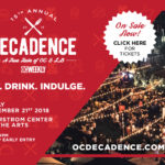 Be a part of our 15th Annual Decadence