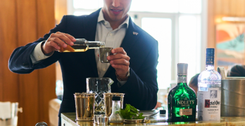 Eat This and Drink This Now: Bourbon Steak's Martini Cart
