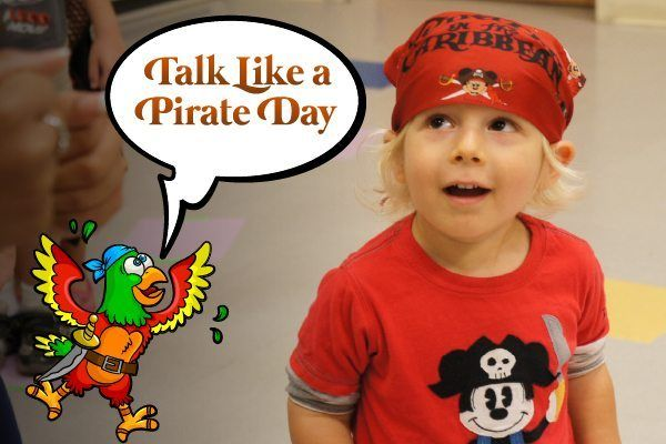 Talk Like a Pirate Day & Pirate Party!