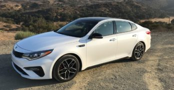 Comfort and Performance in a 2019 Kia Optima SX Turbo? You're Sitting in It