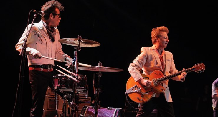 Stray Cats Strut Their Stuff For Two Reunion Shows in Costa Mesa