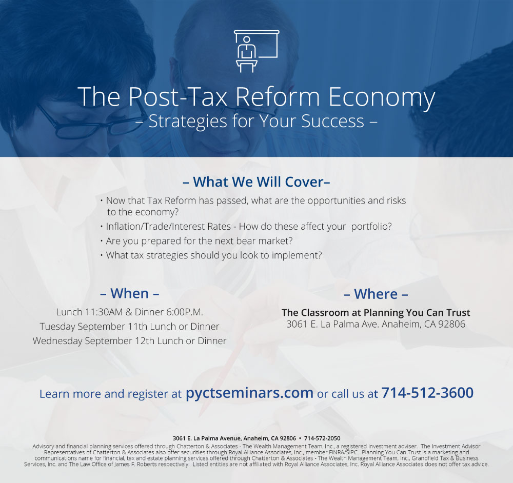 The Post-Reform Economy - Strategies for Your Success