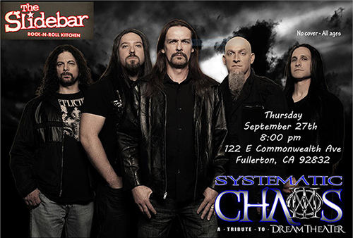 Systematic Chaos, a Tribute to Progressive Rock Icons Dream Theater