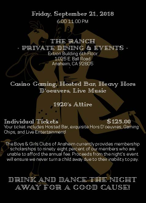 Ace of Clubs Charity Event