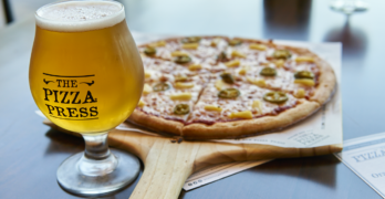 Pizza Press at Orange Village, Our Beers of the Week!