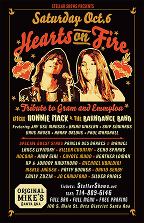 Hearts On Fire - Tribute to Gram & Emmylou