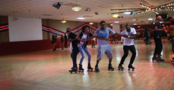 Legendary DJ Big Bert Leads A Rolling Culture Forward at Fountain Valley Skating Center