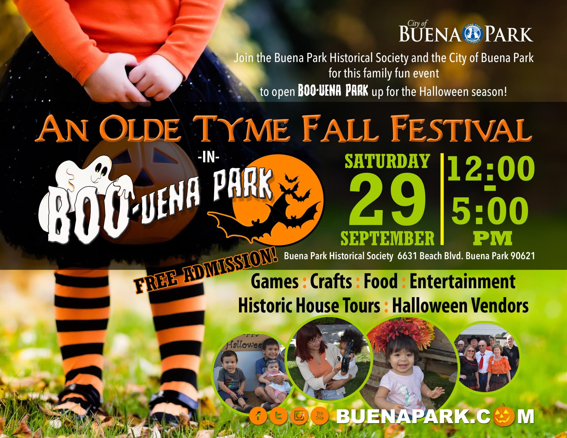 2nd Annual Old Tyme Fall Festival