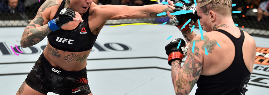 MMA Flyweight Ashlee Evans-Smith Is an Underdog No More