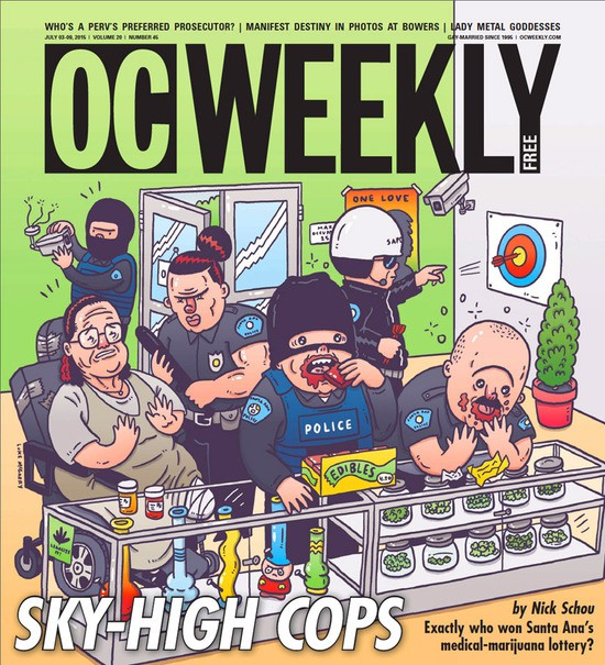 Sky High Collective Raided in Infamous Videotaped Raid Got Raided AGAIN by Santa Ana Police