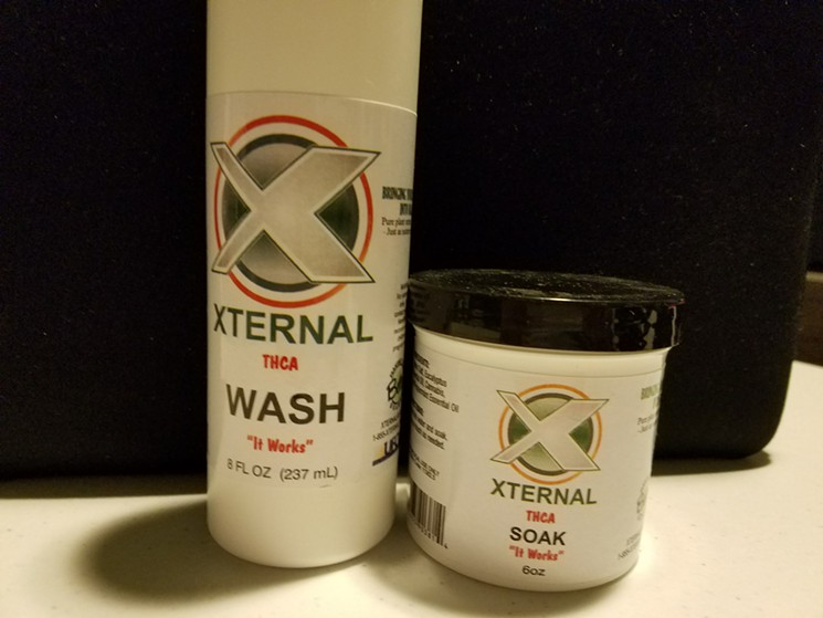 XTERNAL THCA WASH SOAK