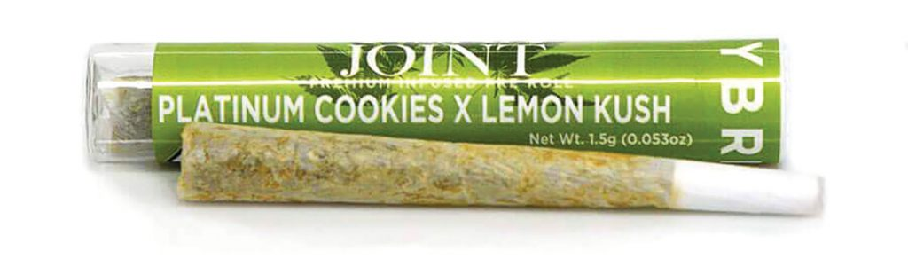 Toke of the Week: Twax Preroll Platinum Cookies X Lemon Kush
